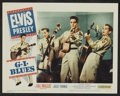"Movie Posters:Elvis Presley, G.I. Blues (Paramount, 1960). Lobby Card Set of 8 (11"" X 14"").Elvis Presley.. ... (Total: 8 Items)"