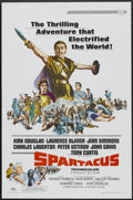 "Movie Posters:Adventure, Spartacus (Universal International, R-1967). One Sheet (27"" X 41"")and Pressbook (9"" X 14""). Adventure.. ... (Total: 2 Items)"