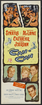 """Can-Can (20th Century Fox, 1960). Insert (14"""" X 36""""). Musical"""