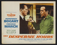 """The Desperate Hours (Paramount, 1955). Title Card and Lobby Cards (5) (11"""" X 14""""). Film Noir. ... (Total: 6 It..."""