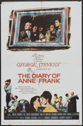"Movie Posters:Drama, The Diary of Anne Frank (20th Century Fox, 1959). One Sheet (27"" X 41""). Drama.. ..."
