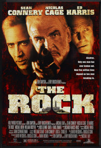 """The Rock (Buena Vista, 1996). One Sheet (27"""" X 40""""). DS. Action"""
