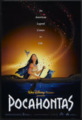 "Movie Posters:Animated, Pocahontas (Buena Vista, 1995). One Sheet (27"" X 41""). DS. Animated.. ..."