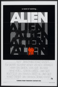 "Movie Posters:Science Fiction, Alien (20th Century Fox, 1979). One Sheet (27"" X 41"") Flat Folded.Science Fiction.. ..."