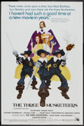 "Movie Posters:Adventure, The Three Musketeers (20th Century Fox, 1974). Poster (40"" X 60"").Adventure.. ..."