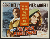 """The Devil Makes Three (MGM, 1952). Lobby Card Set of 8 (11"""" X 14""""). Thriller. ... (Total: 8 Items)"""
