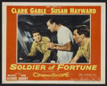 "Movie Posters:Adventure, Soldier of Fortune (20th Century Fox, 1955). Lobby Cards (5) (11"" X14"") and Still (10"" X 13""). Adventure.. ... (Total: 6 Items)"