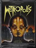 "Movie Posters:Science Fiction, Metropolis (Gaumont, R-1984). French Grande (47"" X 63""). ScienceFiction.. ..."