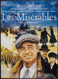 "Les Miserables (Les Films 13, 1995). French Grande (45.5"" X 62""). Historical Drama"