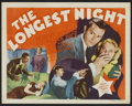 "Movie Posters:Mystery, The Longest Night (MGM, 1936). Lobby Card Set of 8 (11"" X 14"").Mystery.. ... (Total: 8 Items)"
