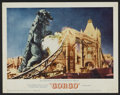 "Movie Posters:Science Fiction, Gorgo (MGM, 1961). Lobby Cards (4) (11"" X 14""). Science Fiction..... (Total: 4 Items)"