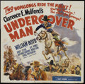 """Movie Posters:Western, Undercover Man (United Artists, 1942). Six Sheet (81"""" X 81""""). Western.. ..."""