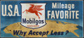 """Movie Posters:Miscellaneous, Mobile Gas Advertising Poster (Mobile, 1950s). 24 Sheet (104"""" X 232""""). Miscellaneous.. ..."""