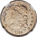 Bust Half Dimes, 1835 H10C Small Date, Large 5C MS67 NGC....