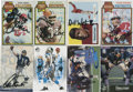 Football Collectibles:Others, 1978-2003 Miscellaneous Signed Football Card Collection (40). ...