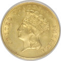 Three Dollar Gold Pieces: , 1879 $3 --Altered Surfaces--NCS. Unc Details. NGC Census: (3/226). PCGS Population (6/351). Mintage: 3,000. Numismedia Wsl. ...