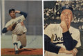 Autographs:Photos, Sandy Koufax and Duke Snider Signed Photos....