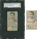 "Boxing Cards:General, 1887 N184 Kimball ""Champions"" Pugilists Pair (2). ..."