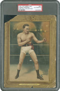 Boxing Cards:General, 1911 T9 Turkey Red #62 Jimmie Gardner PSA Authentic....