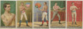 """Boxing Cards:General, 1888 N162 Goodwin """"Champions"""" Boxers Group of (5). ..."""