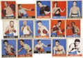 Boxing Cards:General, 1948 Leaf Boxing Group of (15 Different). ...