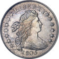Early Dimes, 1805 10C 4 Berries AU58 ICG....