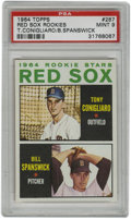 Baseball Cards:Singles (1960-1969), 1964 Topps Red Sox Rookies #287 T. Conigliaro/B. Spanswick PSA Mint9. Amazing Mint rookie card from the 1964 Topps issue f...