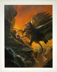 "Boris Vallejo - ""Condor-Chuqui"" Painting Original Art (1992). ... (Total: 0)"