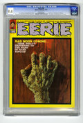 Magazines:Horror, Eerie #36 (Warren, 1971) CGC NM 9.4 Off-white pages. Enrich Torres cover. Pablo Marcos frontispiece. Bruce Jones, Esteban Ma...