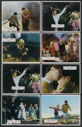 """Movie Posters:Drama, Two Weeks in September (Paramount, 1967). British Lobby Cards (8) (11"""" X 14""""). Drama. Starring Brigitte Bardot, Laurent Terz... (Total: 8)"""