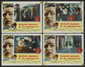 "Movie Posters:Drama, On the Waterfront (Columbia, 1954). Lobby Cards (4) (11"" X 14"").Drama.... (Total: 4 Items)"