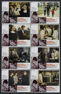 "Change of Habit (Universal, 1969). Lobby Card Set of 8 (11"" X 14""). Elvis Presley. Starring Elvis Presley, Mar..."