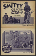 """Movie Posters:Short Subject, Tomato Omelette (Pathe', 1920s). Title Lobby Card (11"""" X 14"""") andLobby Card (11"""" X 14""""). Short Subject. Starring Billy Bart...(Total: 2)"""