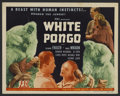 "Movie Posters:Adventure, White Pongo (PRC, 1945). Title Lobby Card (11"" X 14""). Adventure.Starring Richard Fraser, Maris Wrixon, Gordon Richards, Al..."