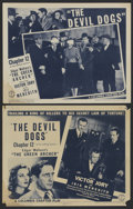 "Movie Posters:Serial, The Green Archer (Columbia, 1940). Chapter 12 -- ""The Devil Dogs."" Title Lobby Card (11"" X 14"") and Lobby Card (11"" X 14""). ... (Total: 2)"