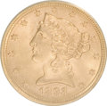 1893 $5 MS63 ANACS. NGC Census: (1339/475). PCGS Population (592/183). Mintage: 1,528,197. Numismedia Wsl. Price for NGC...