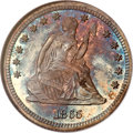 Proof Seated Quarters, 1865 25C PR65 NGC....