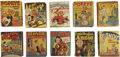Golden Age (1938-1955):Miscellaneous, Big Little Book Group (Whitman, 1937-49) Condition: Average VG.... (Total: 10 Items)