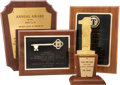 Movie/TV Memorabilia:Awards, Ernie Kovacs' and Edie Adams' Assorted Awards.... (Total: 4 Items)