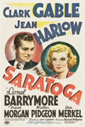 """Movie Posters:Comedy, Saratoga (MGM, 1937). One Sheet (27"""" X 41"""") Style C.. ..."""
