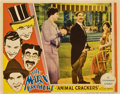 "Movie Posters:Comedy, Animal Crackers (Paramount, 1930). Lobby Card (11"" X 14"").. ..."