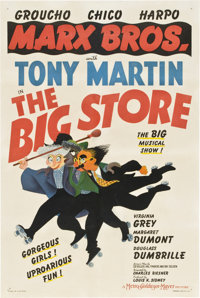 "The Big Store (MGM, 1941). One Sheet (27"" X 41"") Style C"