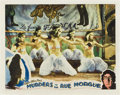 "Movie Posters:Horror, Murders in the Rue Morgue (Universal, 1932). Lobby Card (11"" X 14"").. ..."