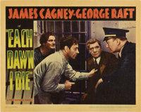 "Each Dawn I Die (Warner Brothers - First National, 1939). Lobby Cards (4) (11"" X 14""). ... (Total: 4 Items)"