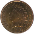 Proof Indian Cents: , 1892 1C PR65 Red and Brown PCGS. PCGS Population (56/9). NGC Census: (60/13). Mintage: 2,745. Numismedia Wsl. Price for NGC...