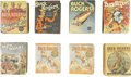 Platinum Age (1897-1937):Miscellaneous, Buck Rogers Big Little Book Group (Whitman, 1933-38).... (Total: 8Items)