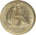 Seated Quarters: , 1840-O 25C No Drapery AU55 NGC. NGC Census: (9/45). PCGS Population(6/22). Mintage: 382,200. Numismedia Wsl. Price for NGC...