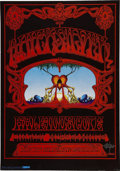 Music Memorabilia:Posters, Quicksilver Messenger Service Avalon Concert Poster Signed by RickGriffin, FD-101-A (Family Dog, 1968). ...