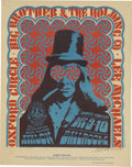 Music Memorabilia:Posters, Big Brother and the Holding Company Indian with SwirlingEyes Avalon Concert Poster FD-38, Artist Autographed (Fam...