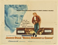 "Movie Posters:Drama, Rebel Without a Cause (Warner Brothers, 1955). Half Sheet (22"" X 28"").. ..."
